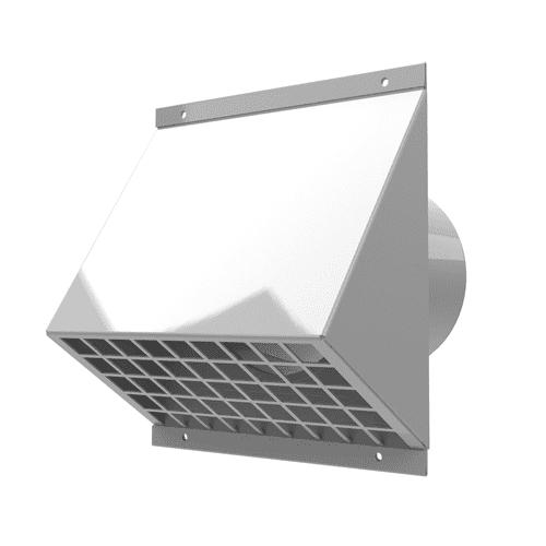 Fasadni element za zajem ali izpust zraka