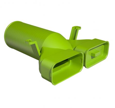 Adapter ravni za prezračevalni ventil